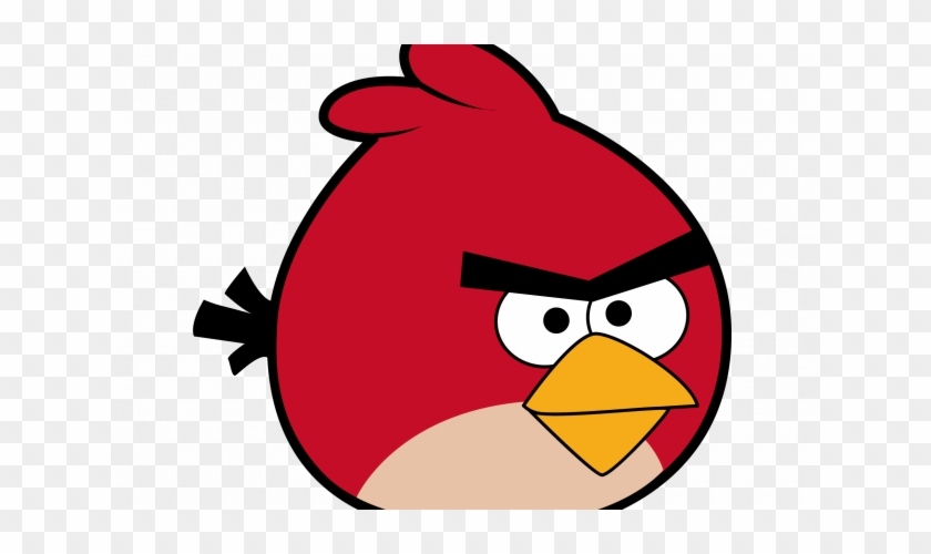 Cute Love Birds Clipart Draw Red Bird From Angry Birds Free