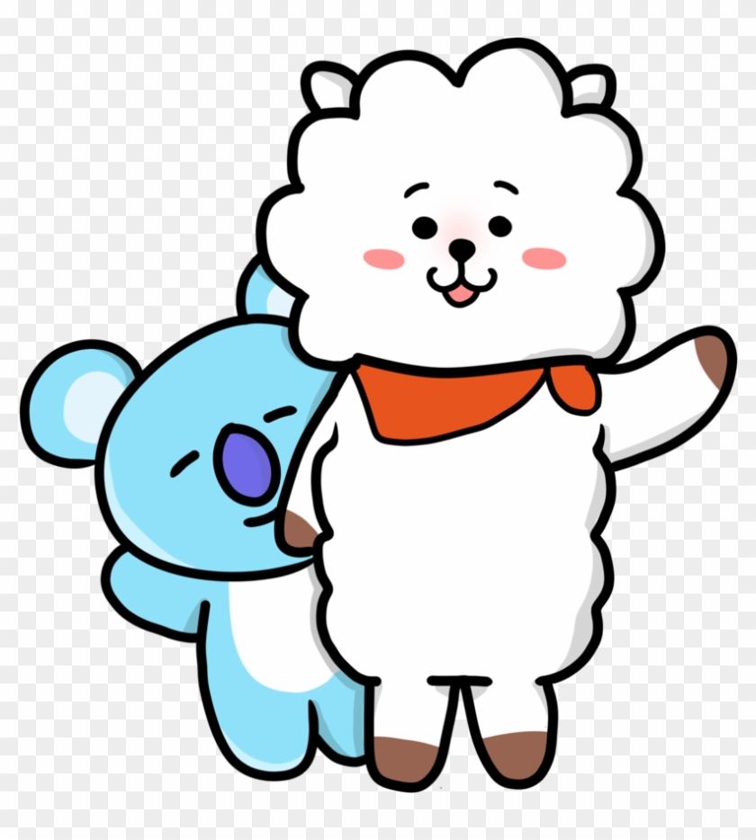 194 1947954 bts drawing deviantart desktop wallpaper rj and koya