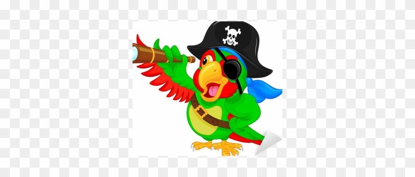 Pirate Parrot Cartoon #882976