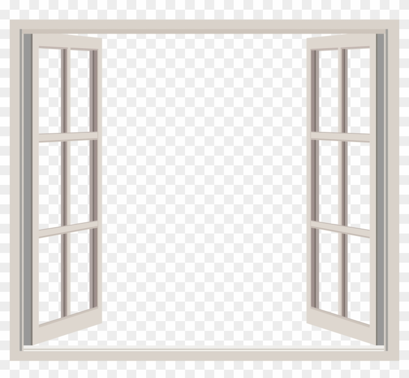 0 Kb, Window - Open Window Frame - Free Transparent PNG Clipart ...