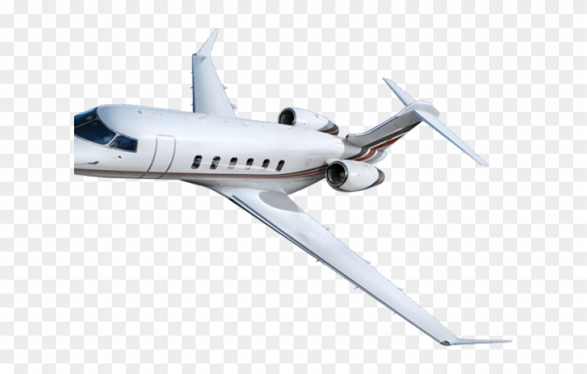 Flying Clipart Private Plane - Bombardier Challenger 350 Png #883269
