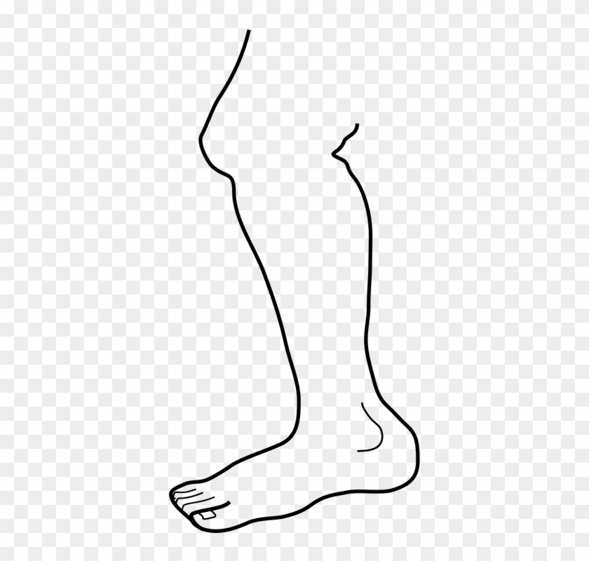 the good knee went bad on the way down from springer gambar kaki hitam putih free transparent png clipart images download the good knee went bad on the way