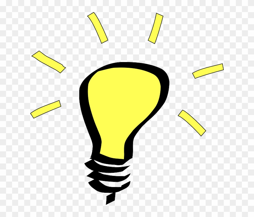 Bright Ideas - Light Bulb Clip Art #883807