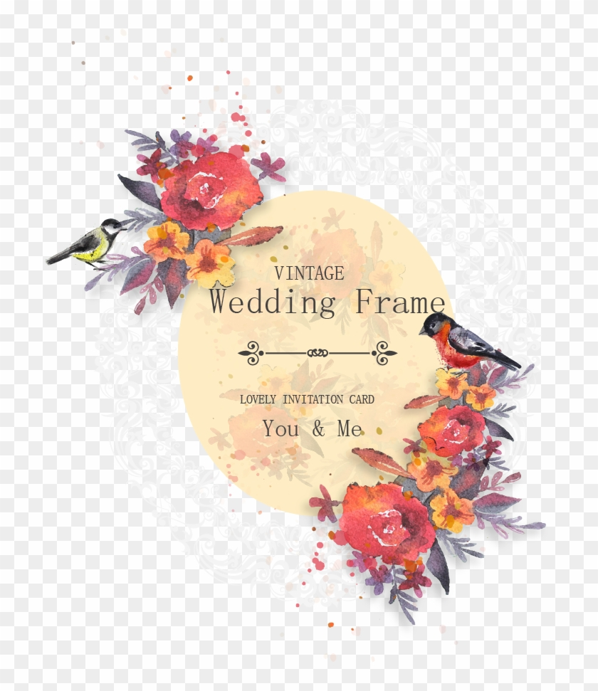 Flower Svg Library Download For Wedding Invitations: Flower Wedding Vector Png