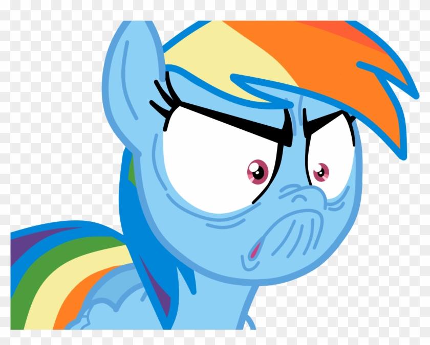 Ice Water - Rainbow Dash Angry Gif #884423
