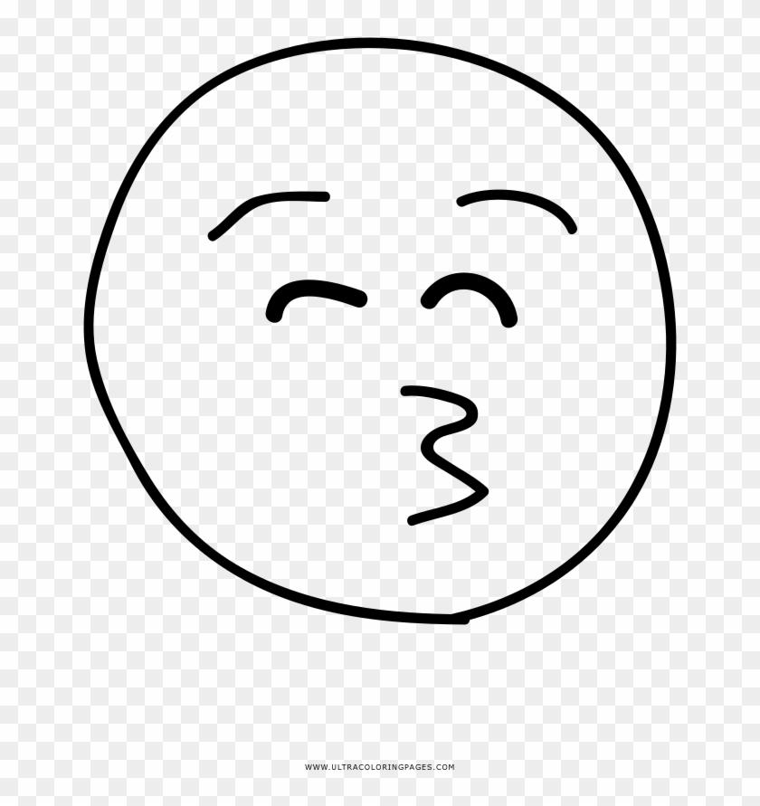 kiss emoji coloring page desenho de emoji free transparent png