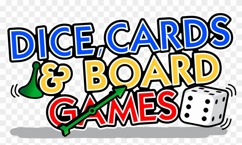 Dice, Cards & Board Games - Board And Card Games Clip Art #884870