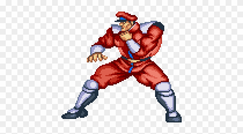 Street Fighter Ii M Bison Free Transparent Png Clipart Images