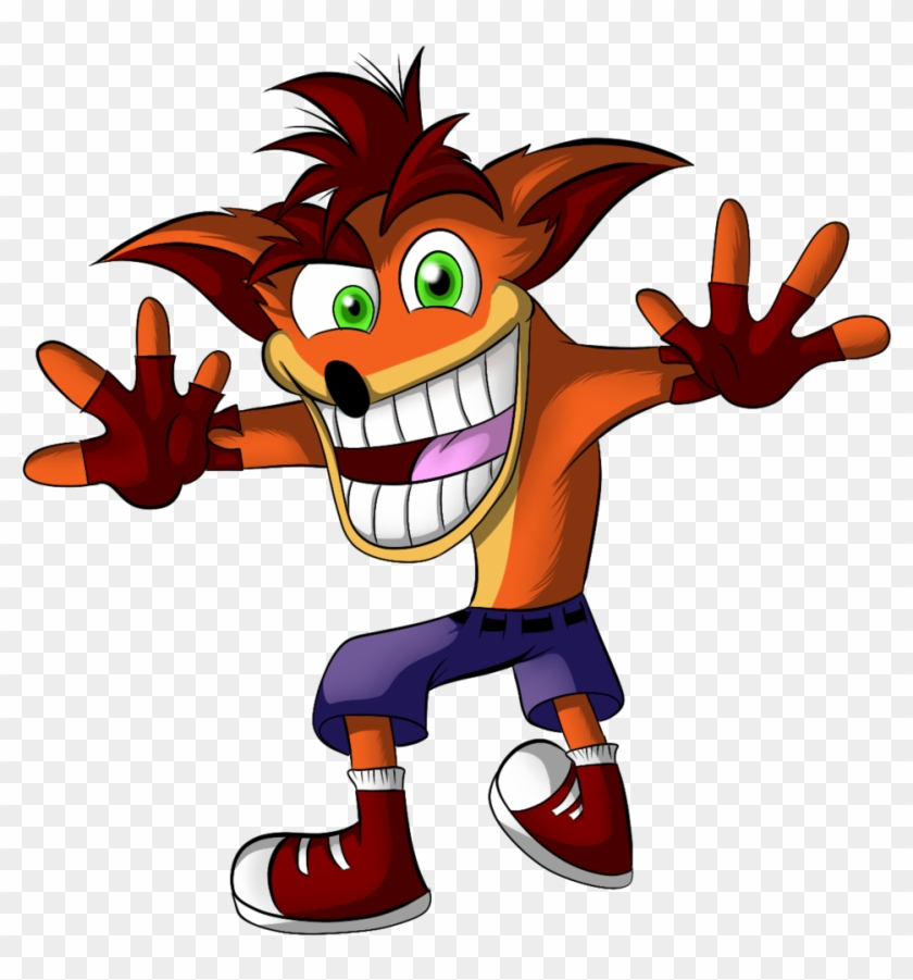 Crash Bandicoot Render By Chrono The Hedgehog Render Gamer