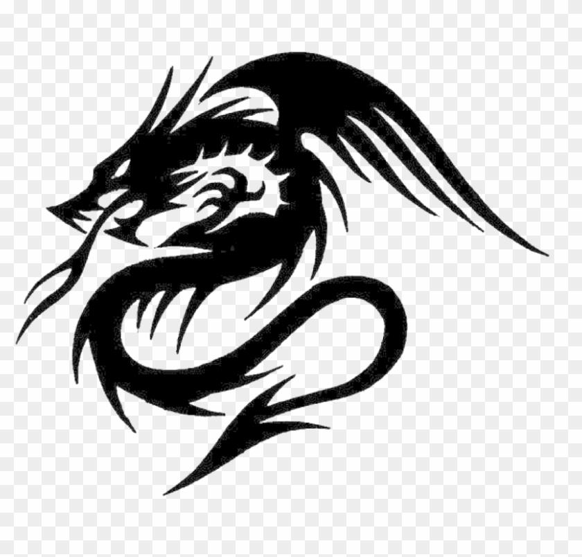 Tribal design dragon tattoo 125+ Elegant