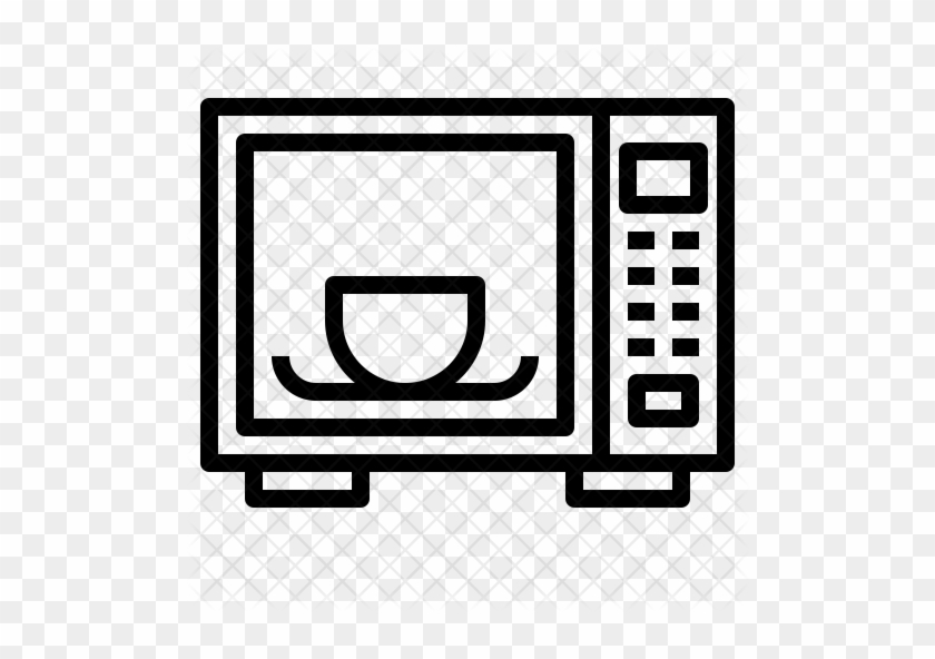 Microwave Oven Icon - Microwave Oven #887295