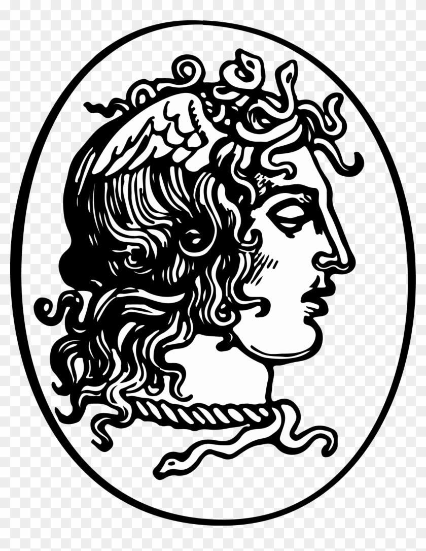 Greek Mythology Medusa Snake Public Domain Jellyfish