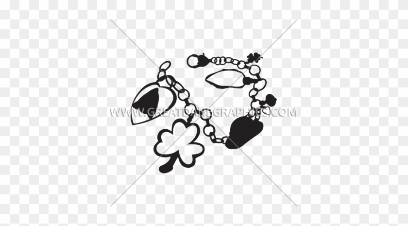 Irish Charm Bracelet - Illustration #888553
