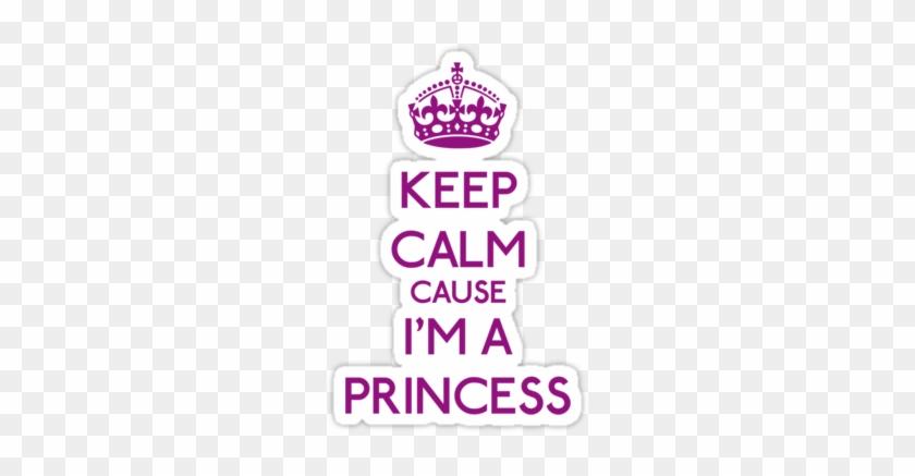 Keep Calm Crown Purple - Keep Calm And Carry #889111