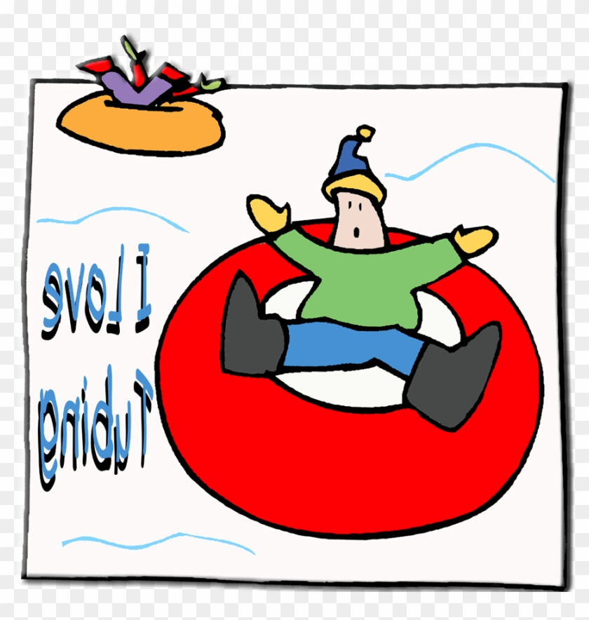 Kids Snow Tubing Clipart - Cartoon Christmas Pudding - Free ...