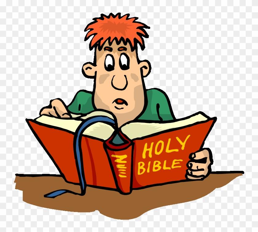 Bible cartoon clipart.