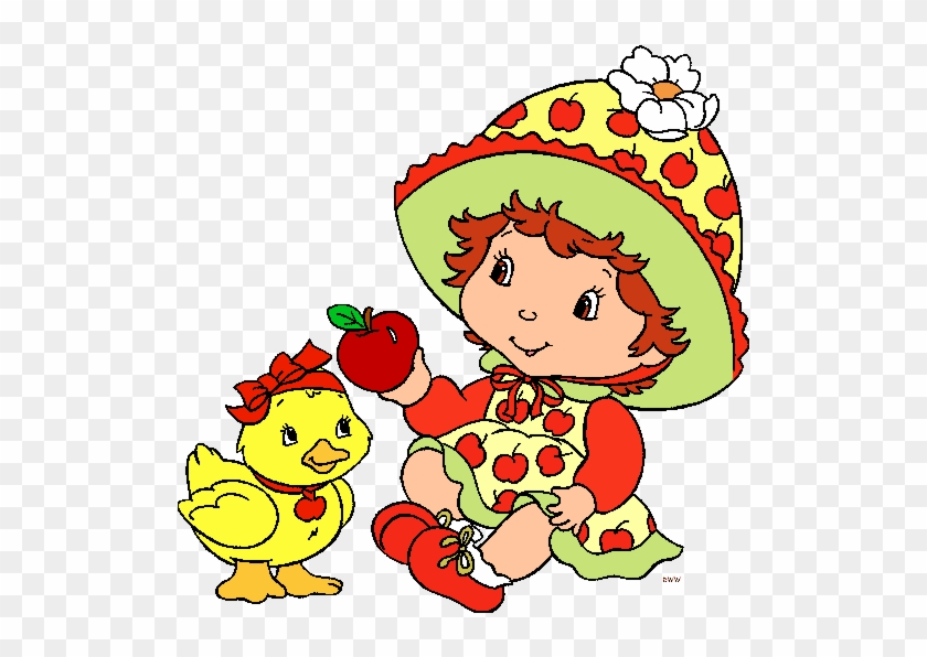 Cartoon Characters Clipart Apple Dumplin Strawberry Shortcake Free Transparent Png Clipart Images Download