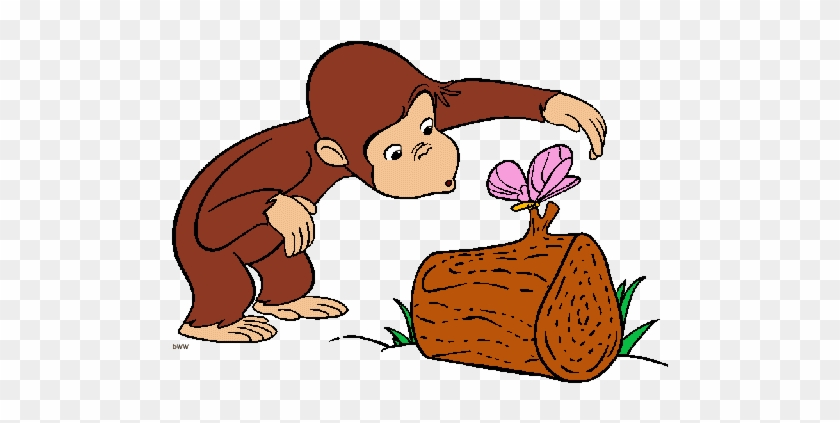 Neat Design Curious George Clipart With A Blue Ball - Curious George Coloring Pages #890117
