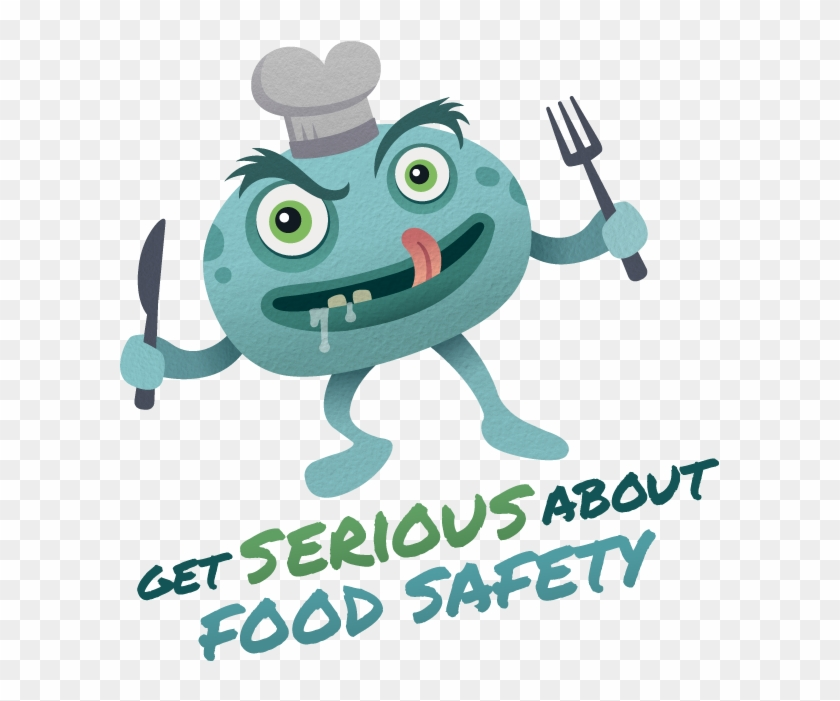 Food Safety Character Design - Get Serious About Food Safety #890302