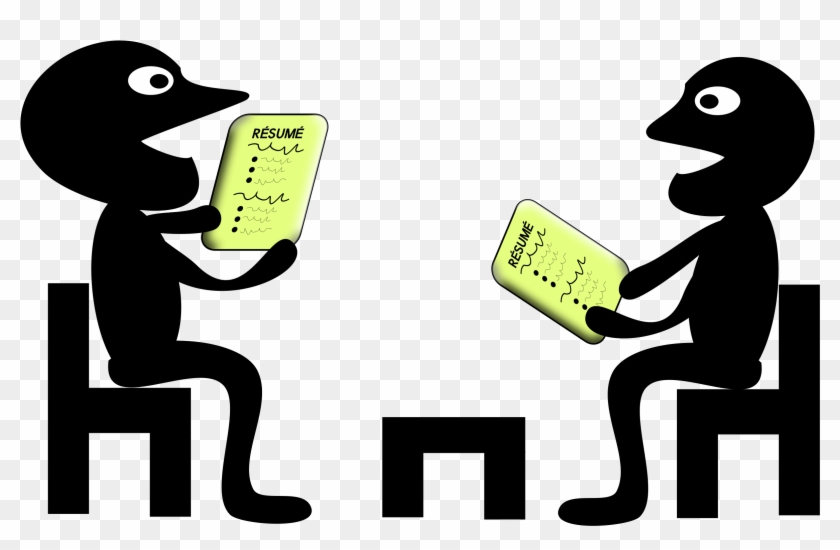 Police Interview Clipart - Job Interview Clip Art - Free