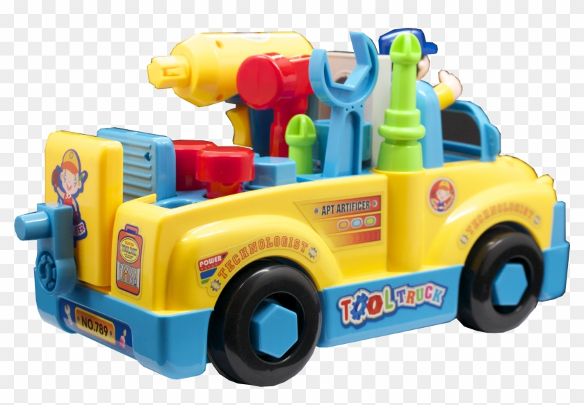 Take Apart Truck Toys With Power Tools For Preschool - Tool Truck #891508