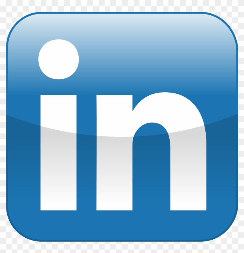 Linkedin Icon For Email Signature - Linkedin Icon Image Size #891643