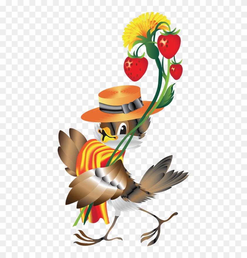 Картинки с днем рождения птички, привет картинка