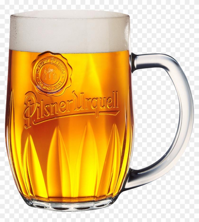 Pint Beer Png Image - Pilsner Urquell Beer - Free Transparent PNG
