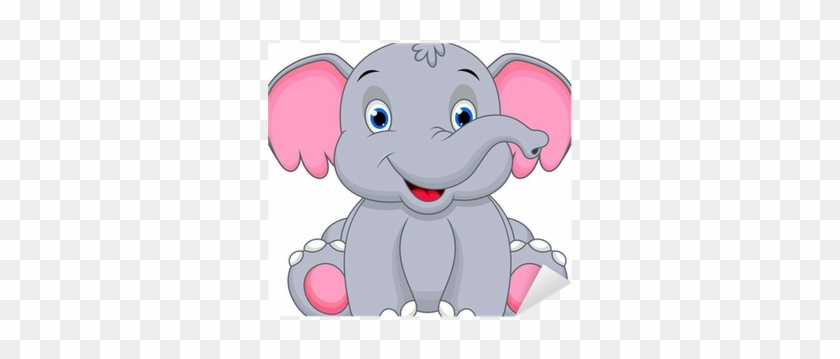 Cute Baby Elephant Cartoon #894135