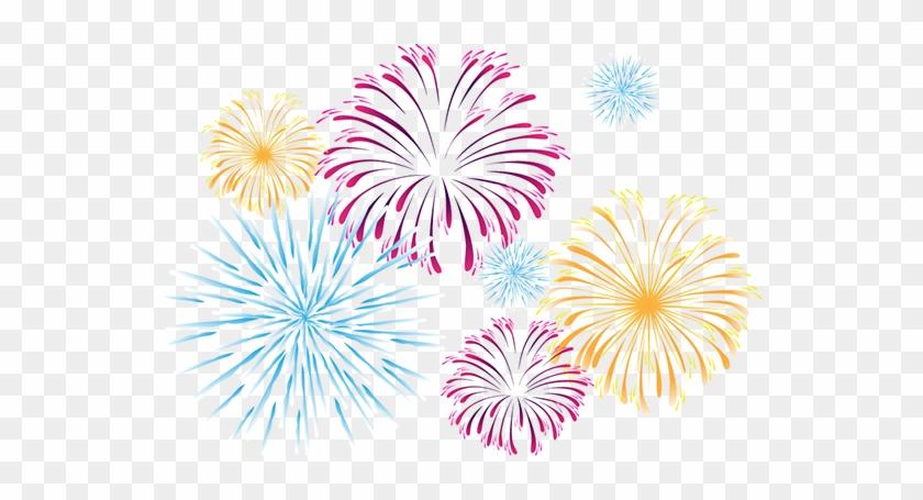Fireworks Transparent - Fireworks Png #894403