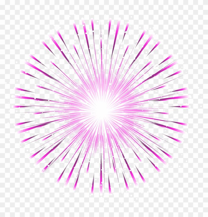 Pink Firework Transparent Png Clip Art Image - Pink Firework Transparent #894587