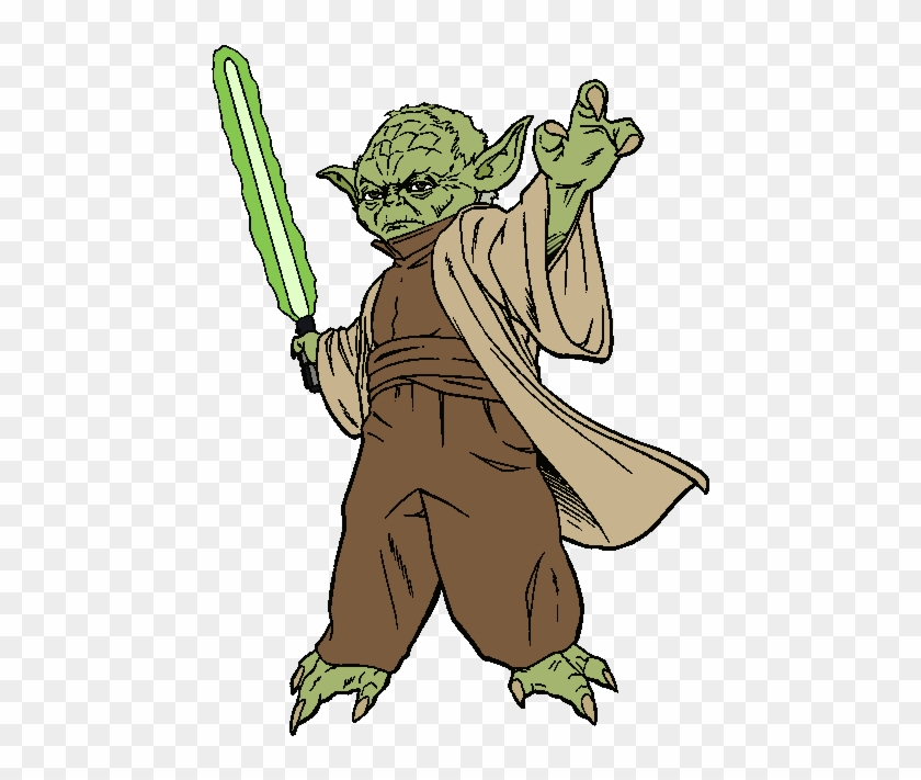 Star Wars Yoda Clipart Kid Yoda Coloring Pages Free Transparent Png Clipart Images Download