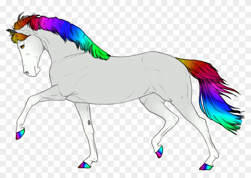 Rainbow Adoptable Gif By Chibii Kira On Deviantart - Rainbow Unicorn Animated Gif #895178
