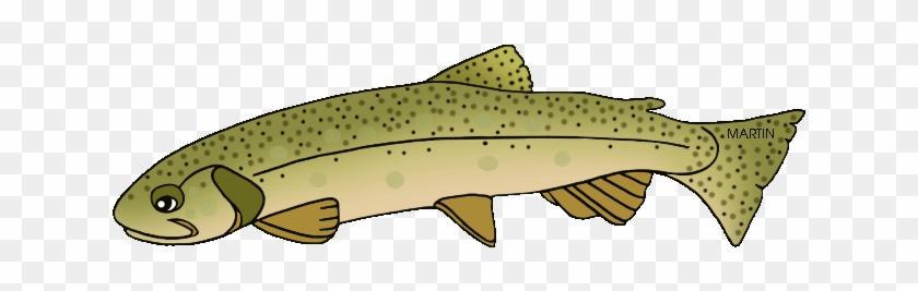 Trout Clipart Trout Fish - Brown Trout #895508