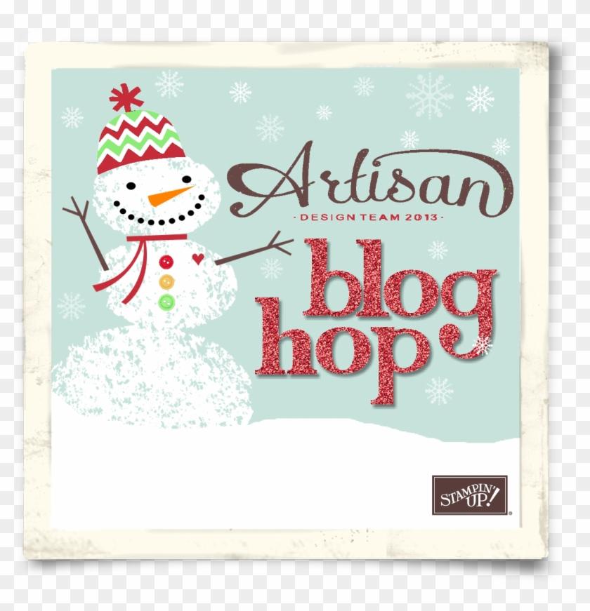 12 Dec Blog Hop Button - Christmas Card #895785
