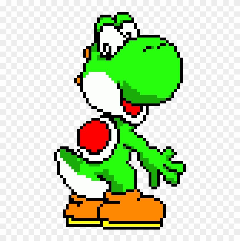 Pixel Art Yoshi