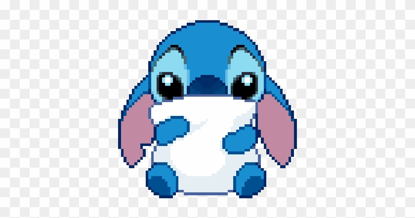 Adorable Cute Disney Kawaii Pixel Stitch Gif Animated Free