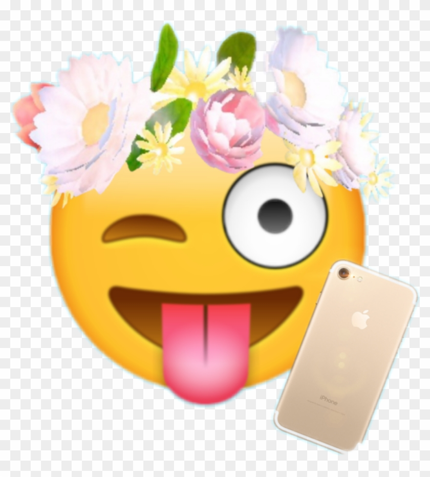 Snapchat Flower Filter Png - Free Transparent PNG Clipart