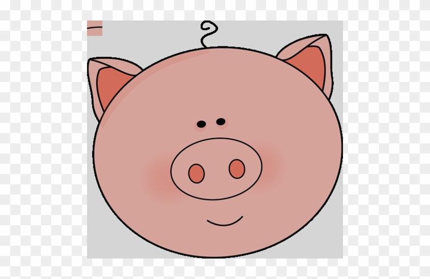 Clip Art Pig Face #896627