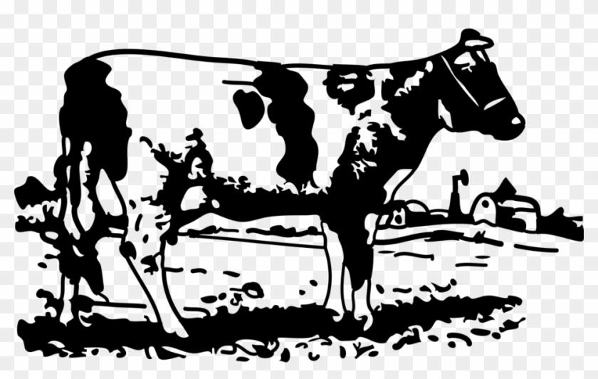 Cow Clip Art Free Vector 4vector - Heifer Please Svg #896696