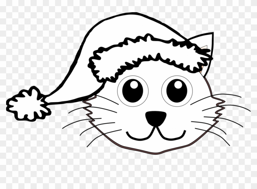 santa claus and presents printable coloring pages christmas christmas cat colouring pages
