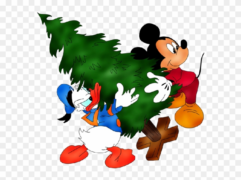disney christmas clipart mickey mouse and donald duck christmas - Donald Duck Christmas