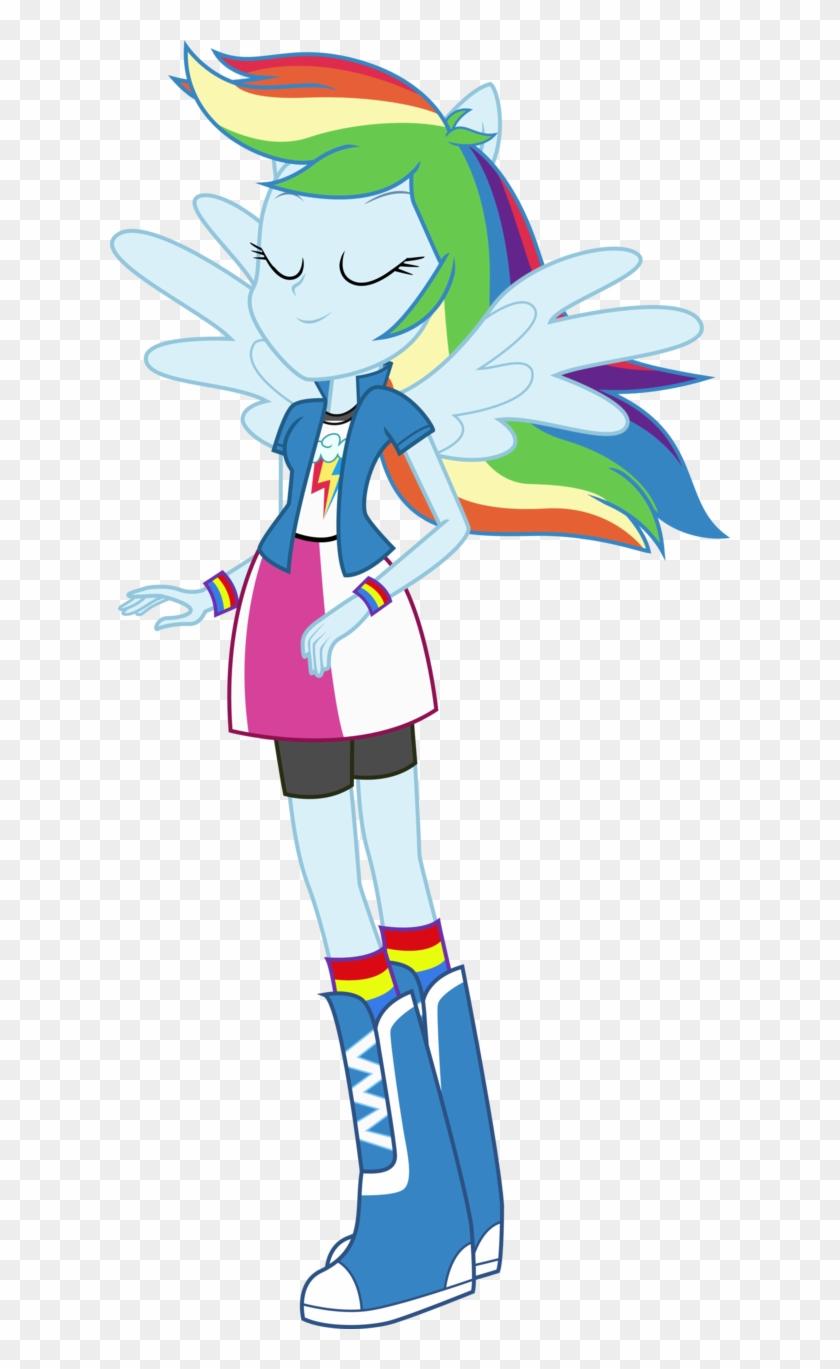 - My Little Pony Equestria Girl Rainbow Dash Dance - Equestria Girl
