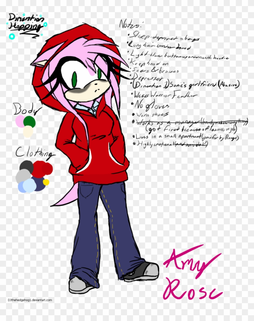 1 Amy Rose Concept Art By Djthehedgehog1 Sonic The Hedgehog Concept Art Amy Free Transparent Png Clipart Images Download