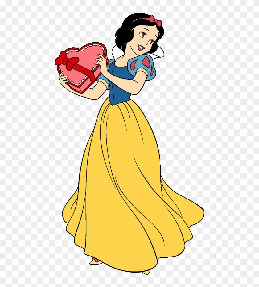 Disney Valentine Cliparts Free Download Clip Art Free - Snow White Disney Clips #898352