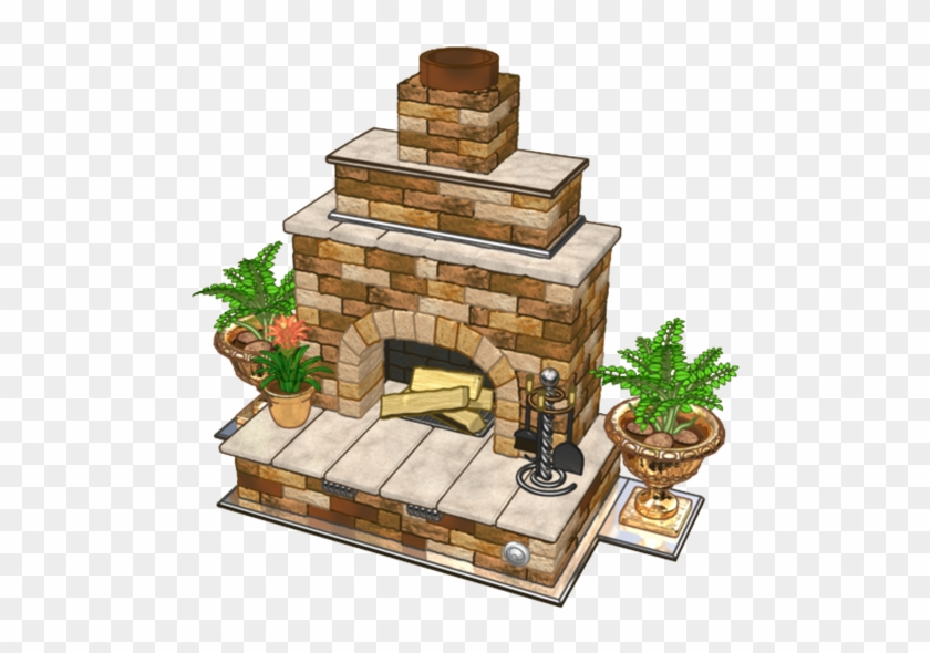 Fireplace Clipart Garden   Hearth