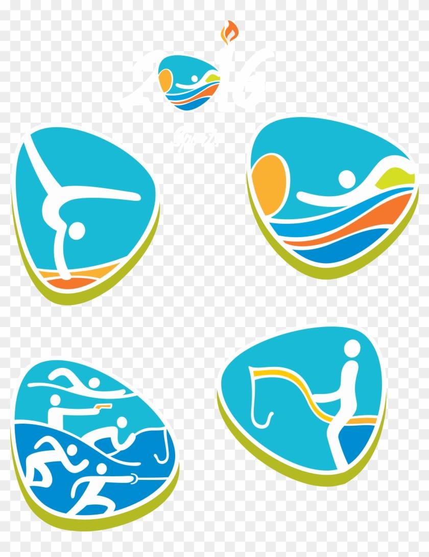 2016 Summer Olympics Rio De Janeiro Sport Clip Art - Modern Pentathlon #899096