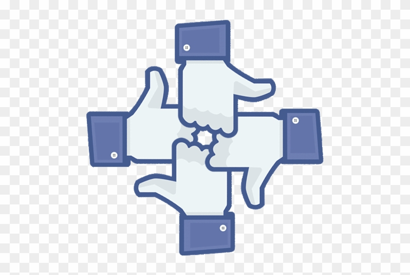Facebook Like Button Art Animated Gif Hot - Like Don T Like Icon #899456