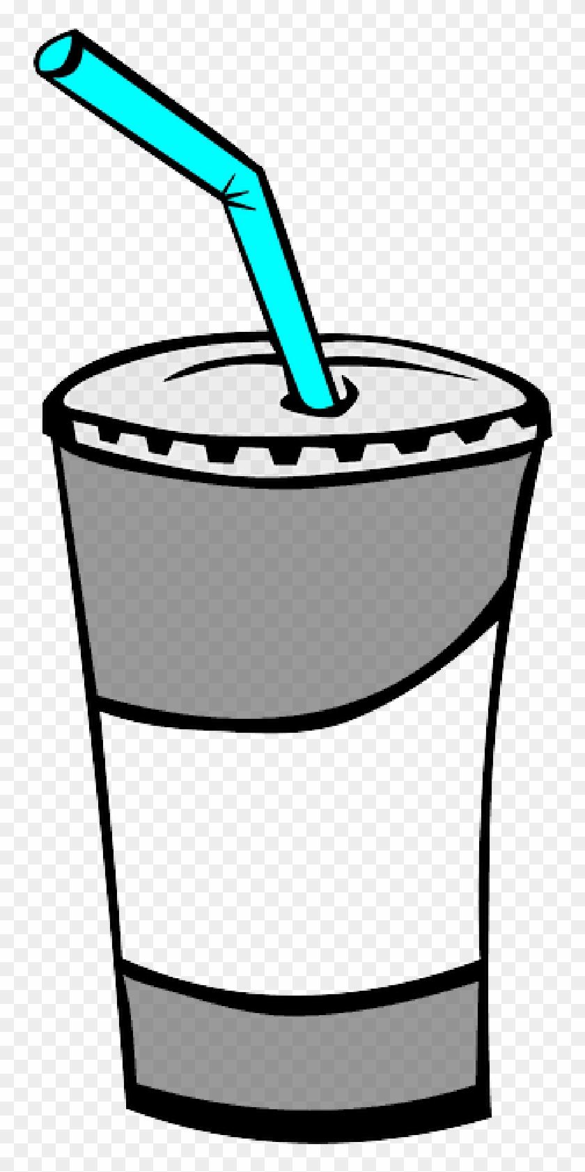 Icon, Glass, Food, Menu, Juice, Cup, Bottle, Cartoon - Soda Clipart #899737