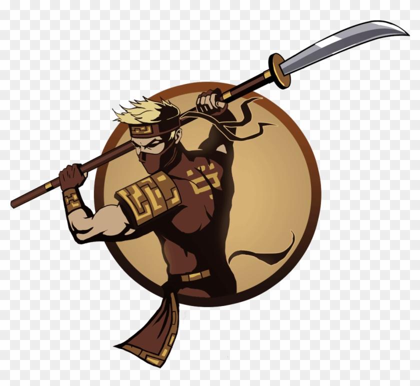 Hawk - Shadow Fight 2 Naginata - Free Transparent PNG